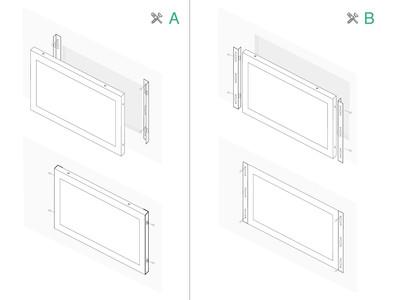 10 Zoll Touchscreen Metall