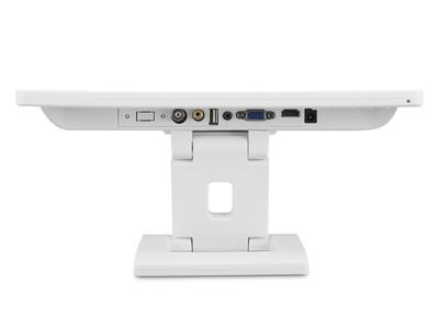 13 Zoll Monitor (Weiß) Anschlüsse mit HDMI