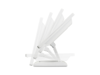13 Zoll Monitor (Weiß) - stufenlos einstellbar