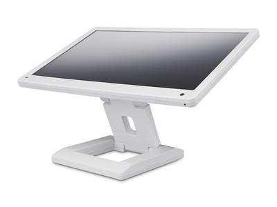 Flacher 13 Zoll Monitor in weiß