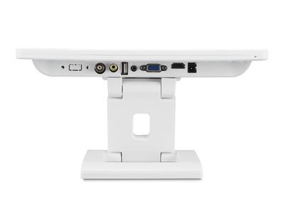 12 Zoll Monitor (Weiß) mit HDMI Anschluss