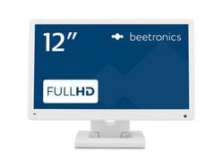 12 Zoll Monitor (Weiß) - Vorderansicht