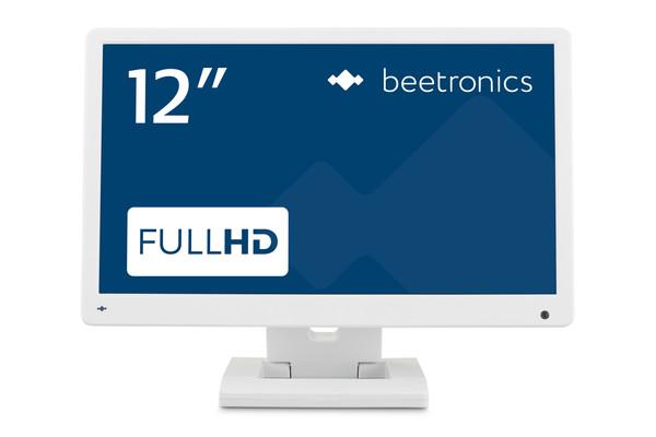 12 Zoll Monitor (Weiß)