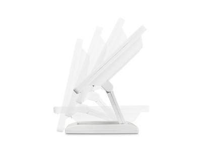 12 Zoll Monitor (Weiß) - Stufenlos einstellbar